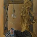 Olej na płótnie, 55,5x46,5cm