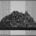 Linoryt, 28,5x27,5cm, 1991r.