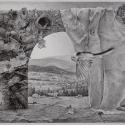 Rysunek długopisem, 37x28cm
