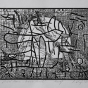 Linoryt, 20x16cm, 2003r.